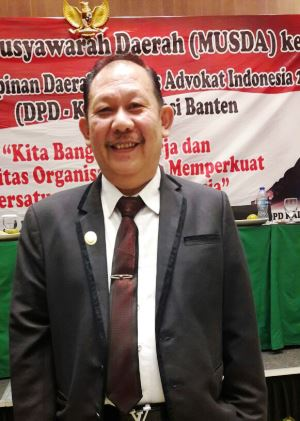 Ketua Dewan Pimpinan Daerah (DPD) Provinsi Banten Ricky Umar.