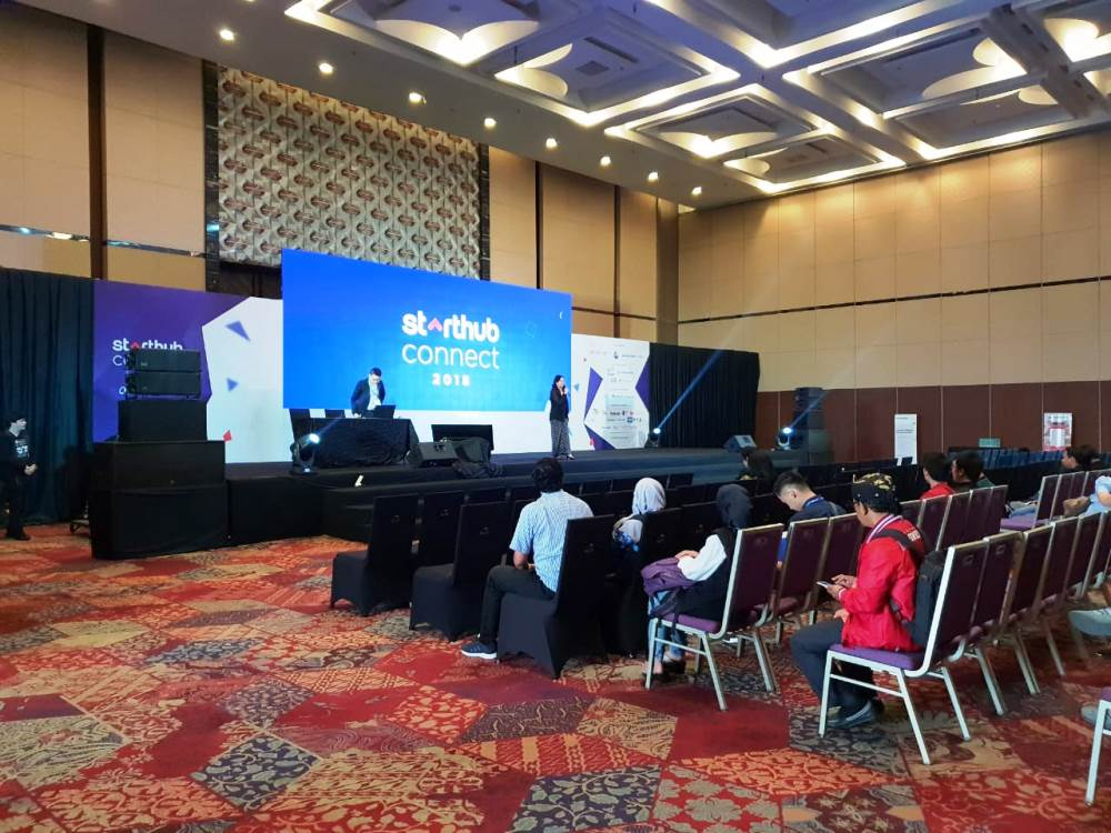Starthub Connect 2018 di ICE BSD City.