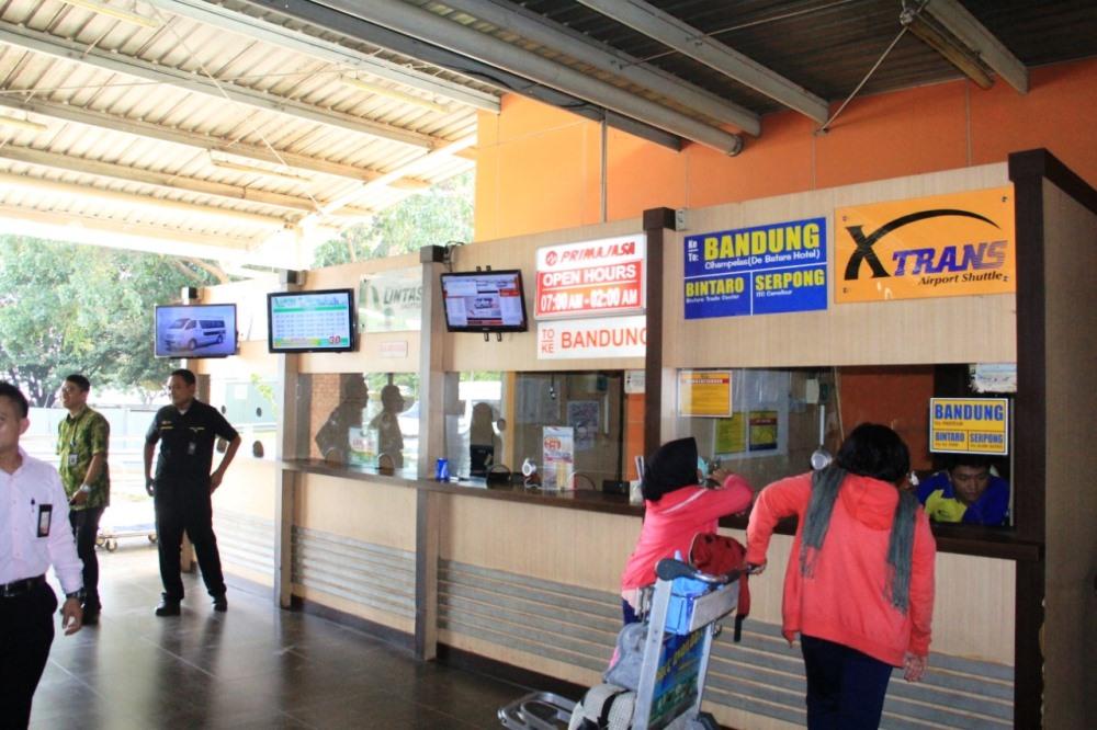 Terminal 2, Bandara Internasional Soekarno-Hatta.