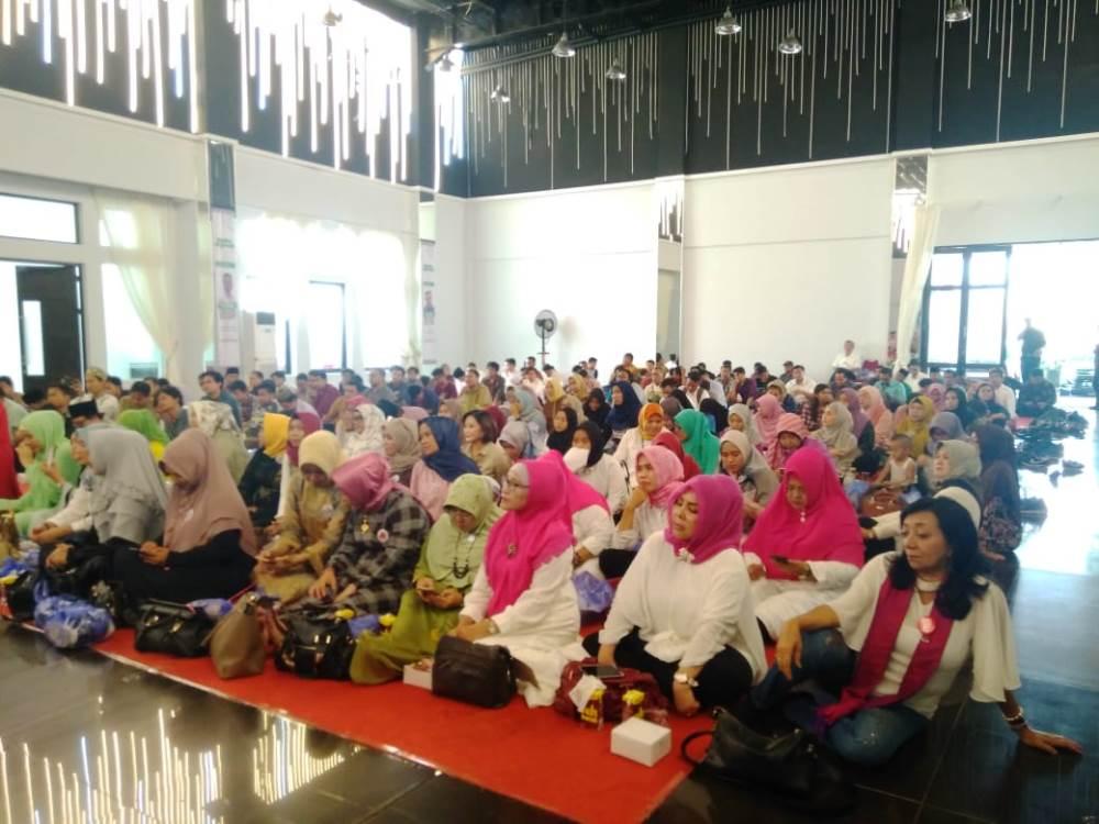 Kegiatan Tausiah Kebangsaan di Hotel The Radiant Center, Ciputat Timur, Tangerang Selatan, Rabu (6/2/2019).