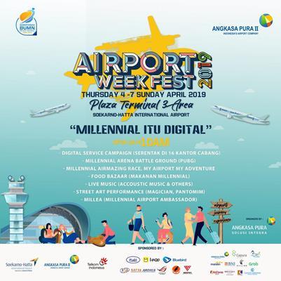 Airport Week Fest 2019 di Bandara Internasional Soekarno-Hatta.