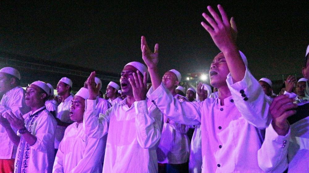 Kegiatan memperingati Isra Mi'raj Nabi Muhammad SAW 1440 H / 2019 M, Jumat (5/4/2019).