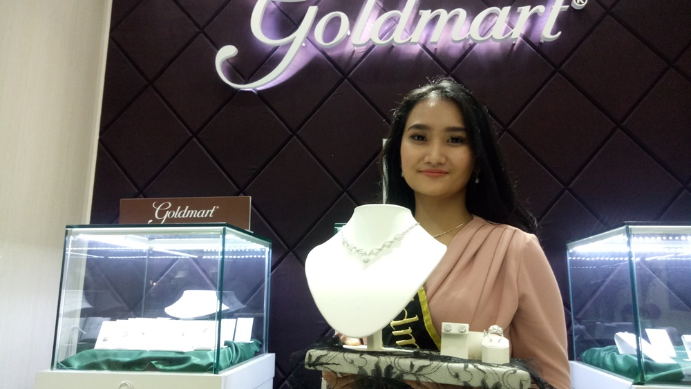 Butik Perhiasan Goldmart di Supermal karawaci.