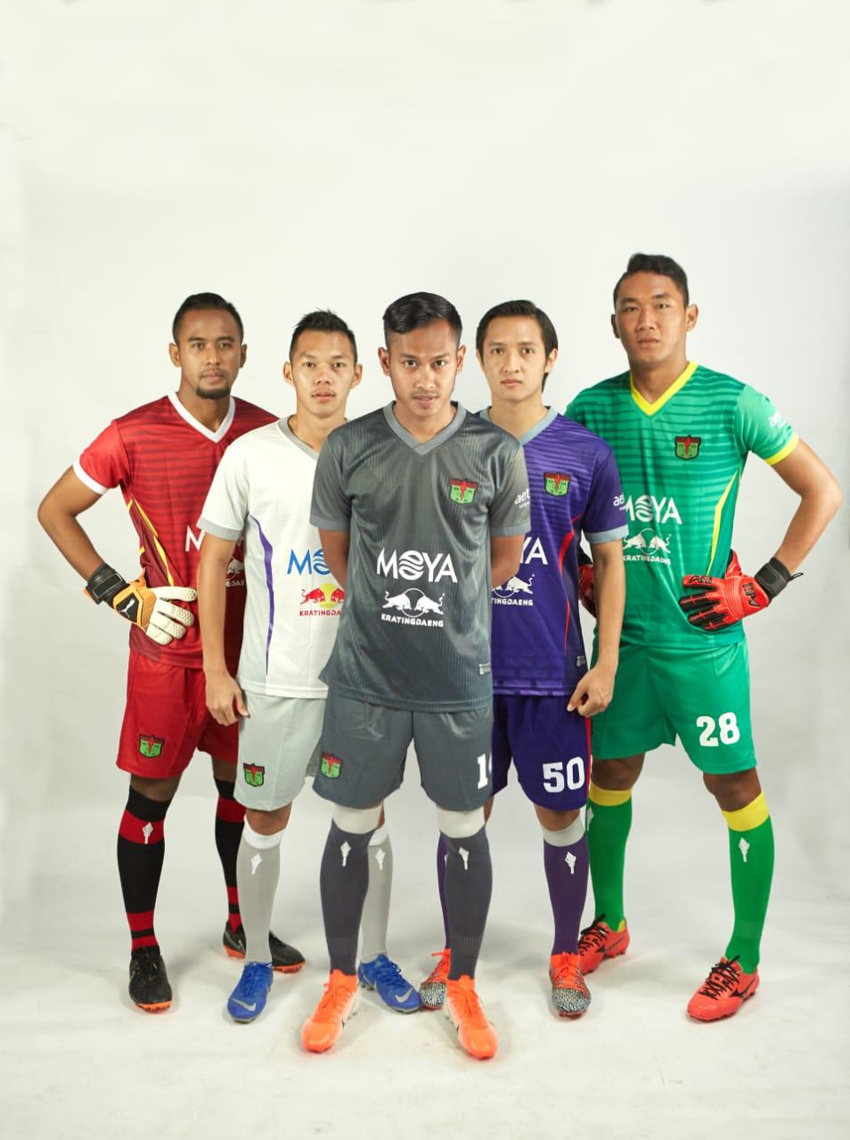 Jersey Persita Tangerang untuk Liga 2 2019.