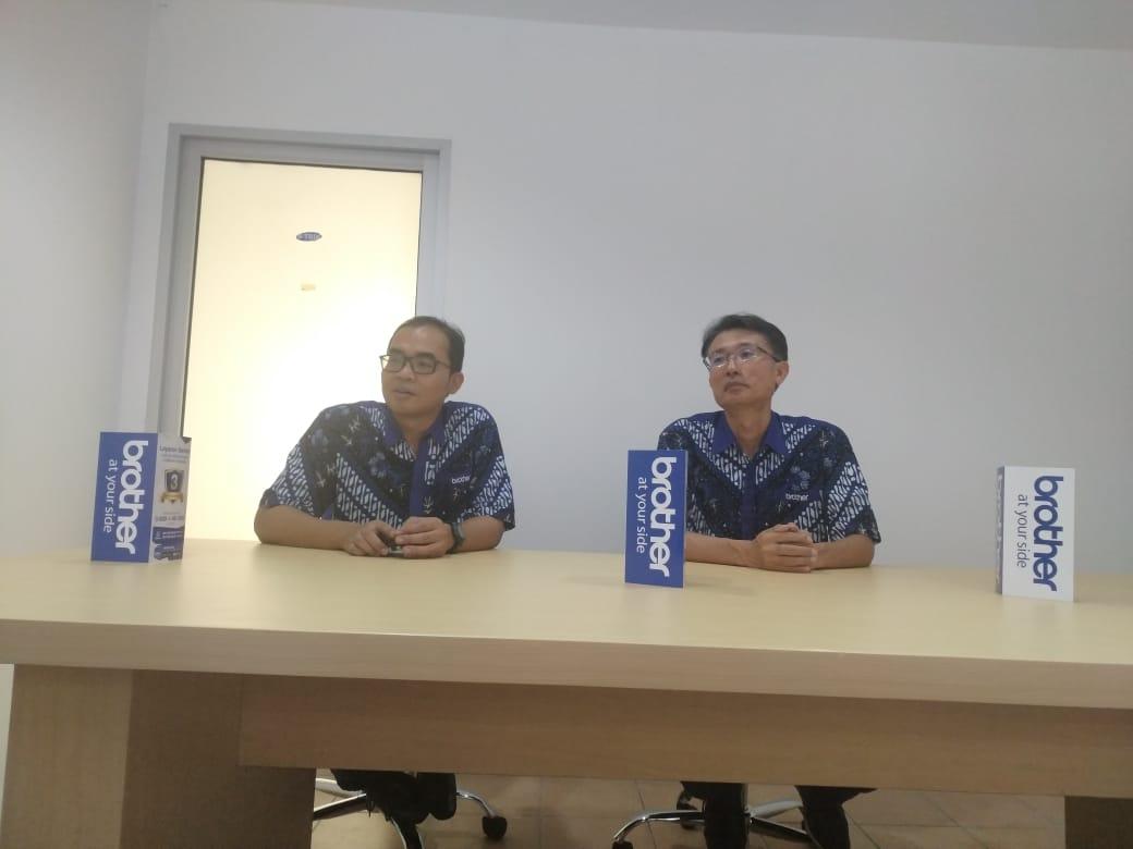 Brother Internasional Sales Indonesia menggelar kegiatan peresmian Custimer Care Center (CCC) di Ruko WTC Serpong, Jalan Raya Serpong, Pondok Jagung, Serpong Utara, Tangsel, Kamis (20/6/2019).
