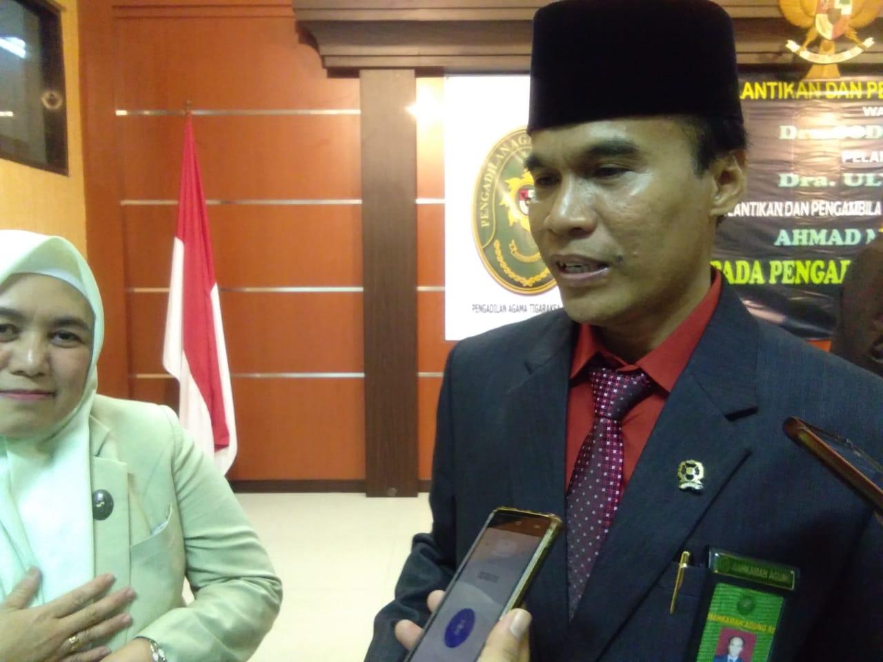 Sodikin, Wakil Ketua Pengadilan Agama (PA) Tigaraksa, Kabupaten Tangerang.