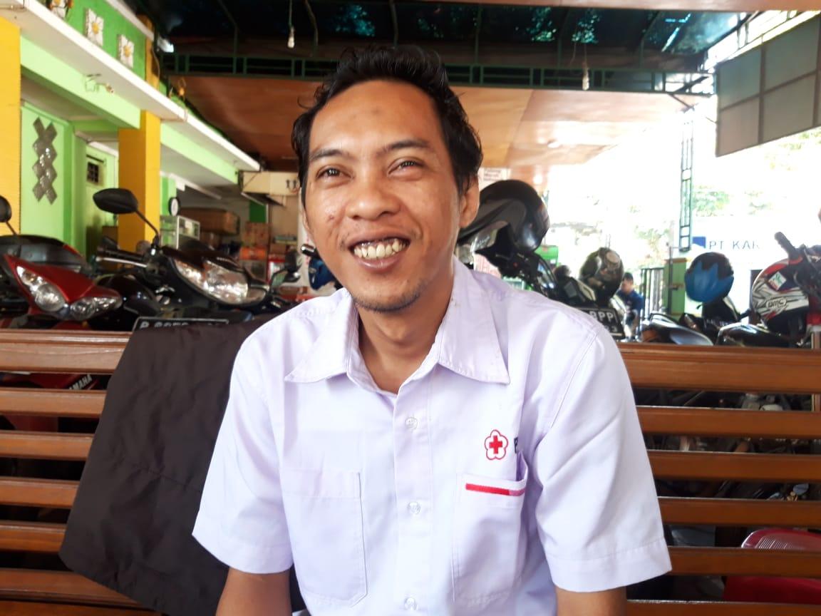 Kabiro Humas PMI Kota Tangerang Ade Kurniawan.