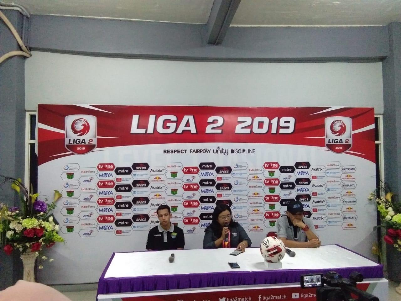 Persita Tangerang Vs Blitar Bandung United di Stadion Sport Centre, Kelapa Dua Tangerang, Selasa, (13/8/2019).