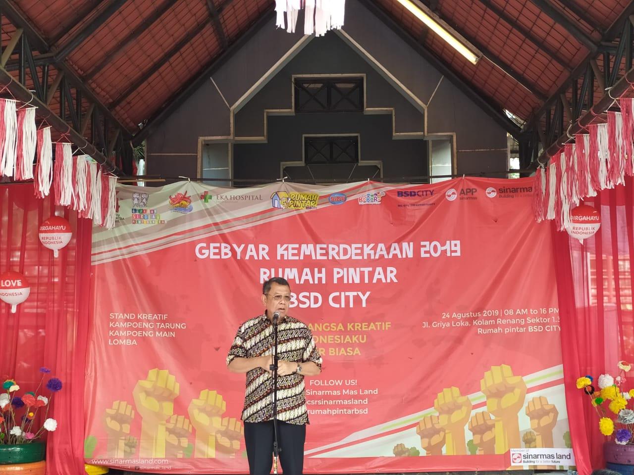 Wakil Wali Kota Tangsel Benyamin Davnie.