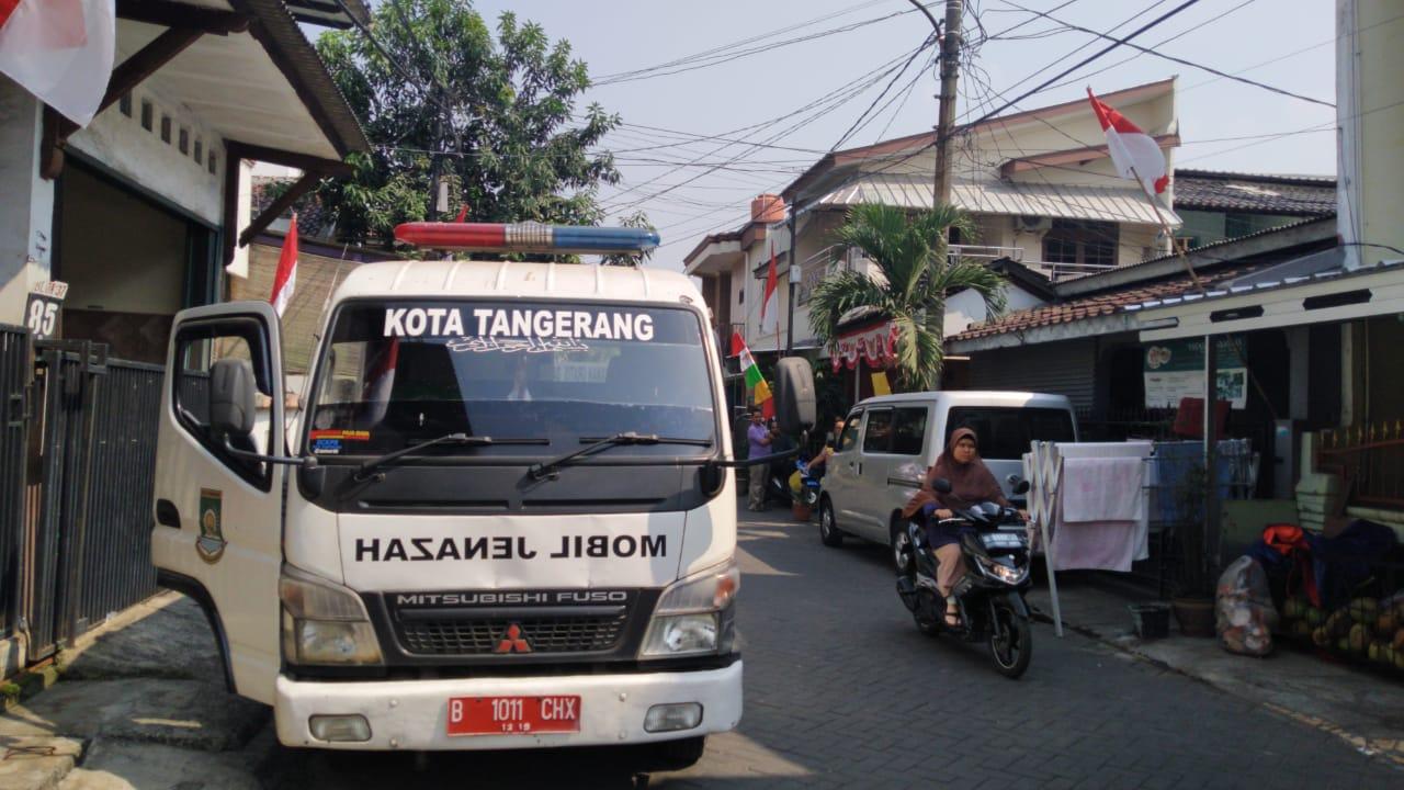 Unit layanan mobil jenazah Pemkot Tangerang.