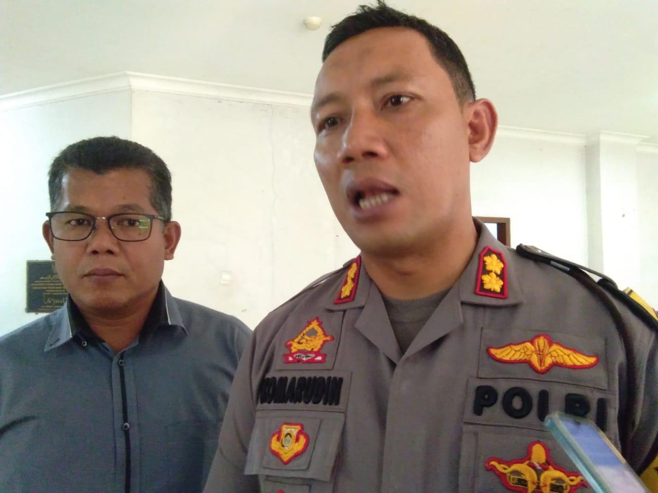 Wakapolresta Tangerang AKBP Komarudin.