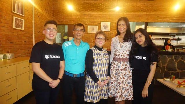 Kegiatan acara talkshow properti yang digelar Estator bekerjasama dengan Intiland. Talkshow berlangsung di Meeting Room, UG Floow Aeropolis Commercial Park 2, Jalan Marsekal Suryadarma, Neglasari, Kota Tangerang, Sabtu (14/9/2019).
