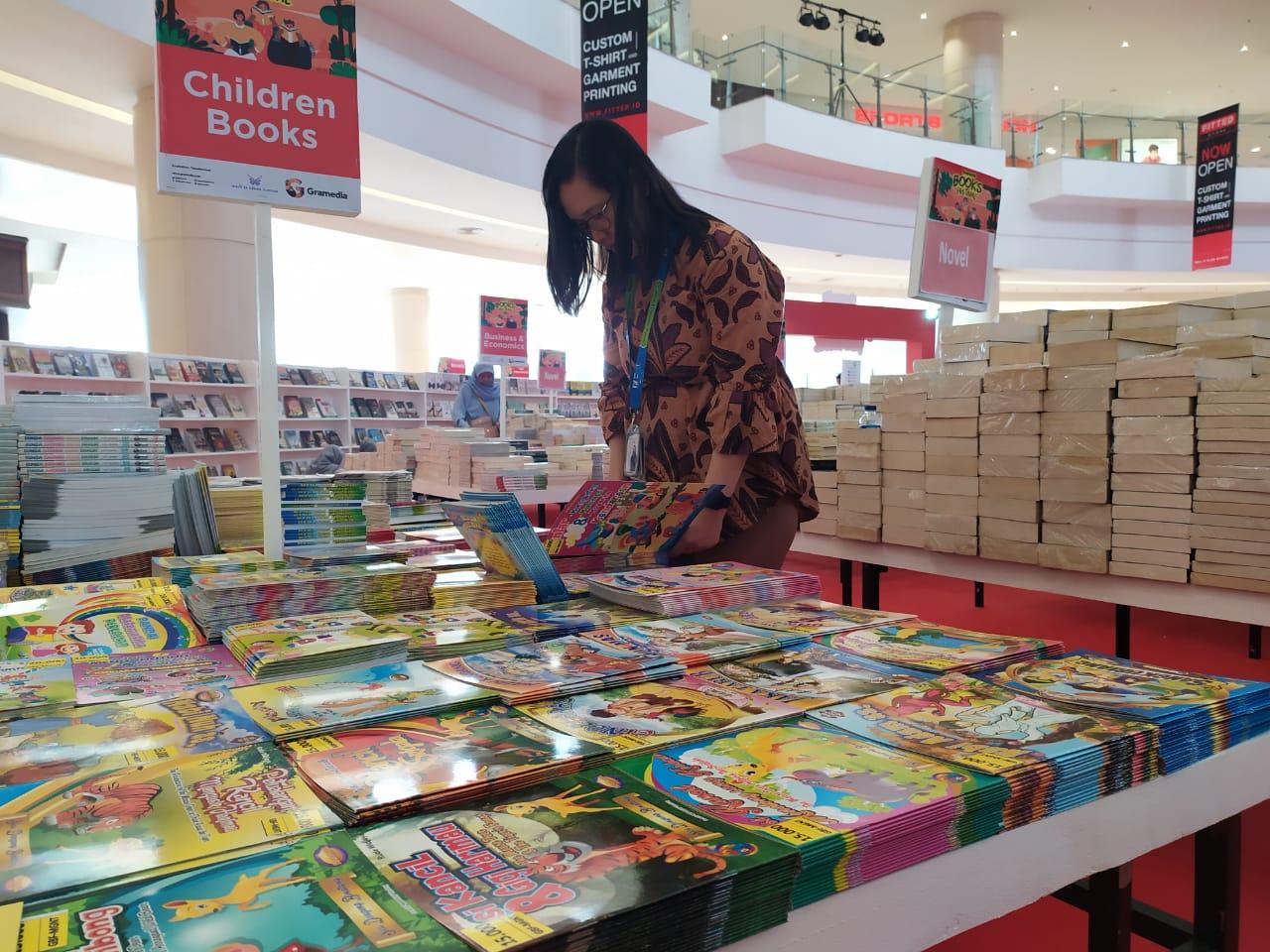 Gramedia Book Festival (GBF) 2019 di Mall @Alam Sutera.