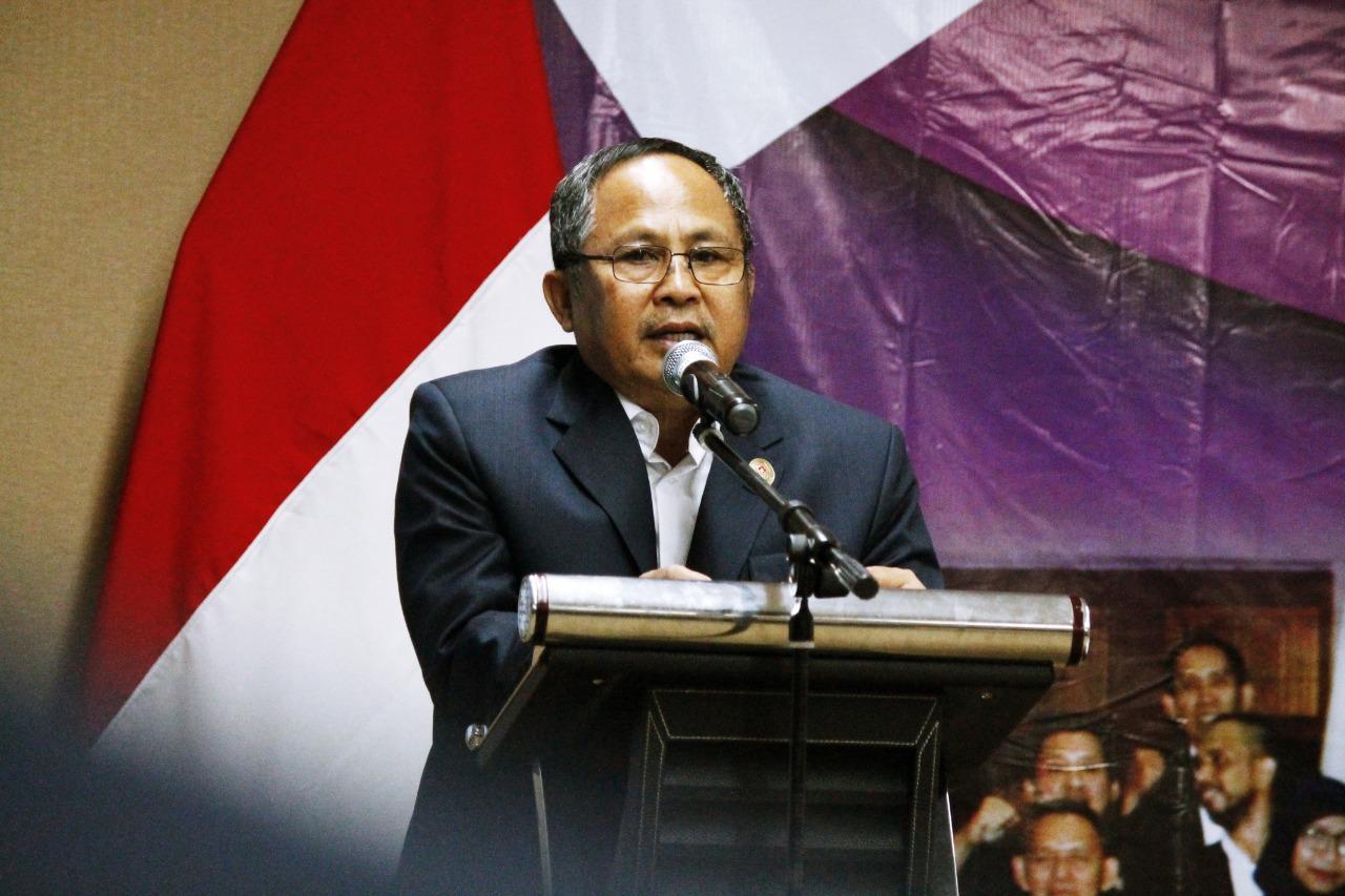 Ketua Komite Olahraga Nasional Indonesia (KONI) Kabupaten Tangerang Komarudin.