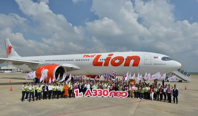 Maskapai Thai Lion Air.
