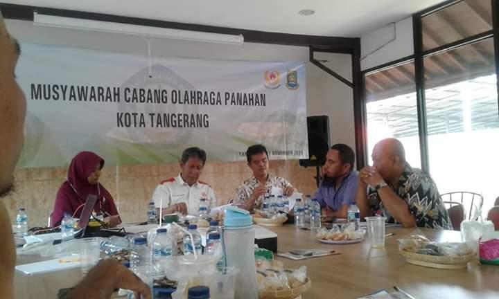 Pengurus Persatuan Panahan Indonesia Kota Tangerang.