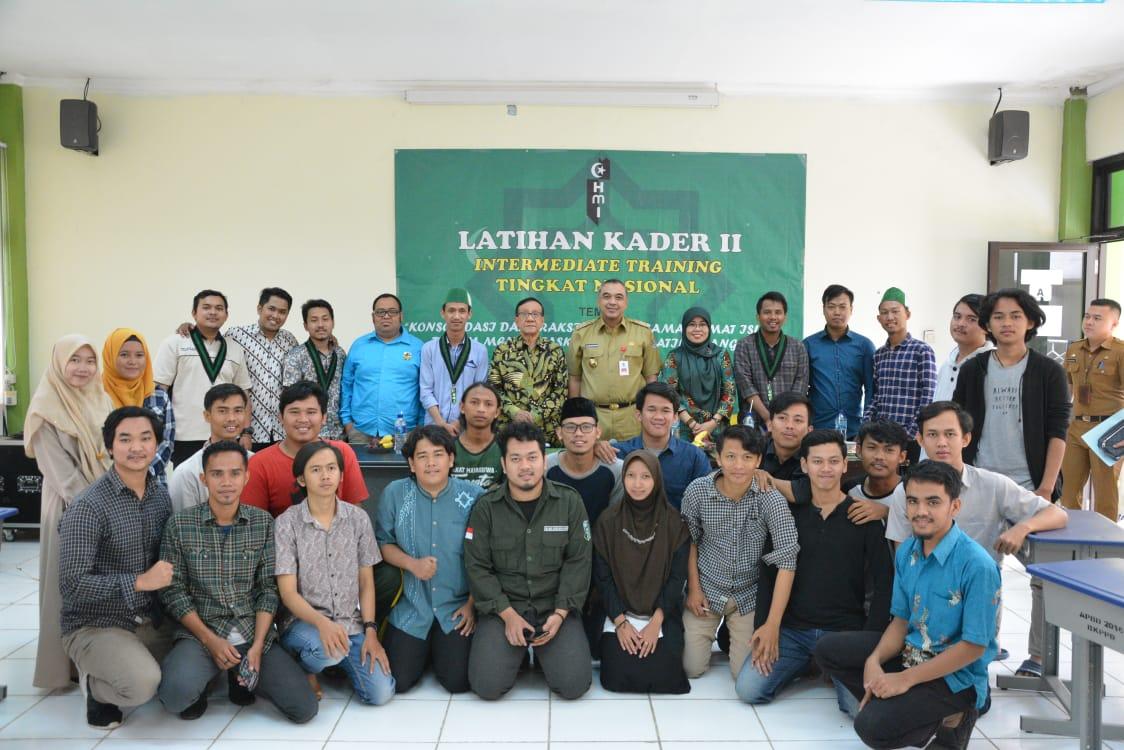 Kegiatan pelatihan Kader (LK-2) Intermediete Training tingkat nasional Himpunan Mahasiswa Islam (HMI) Cabang Tangerang Raya Tahun 2020.