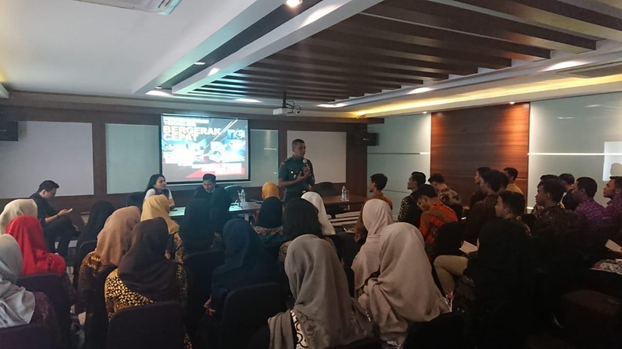 Kegiatan seminar wawasan kebangsaan bagi semi finalis putra-putri pendidikan Banten, di Aeropolis ACP2, Neglasari, Kota Tangerang, Jumat (17/1/2020).