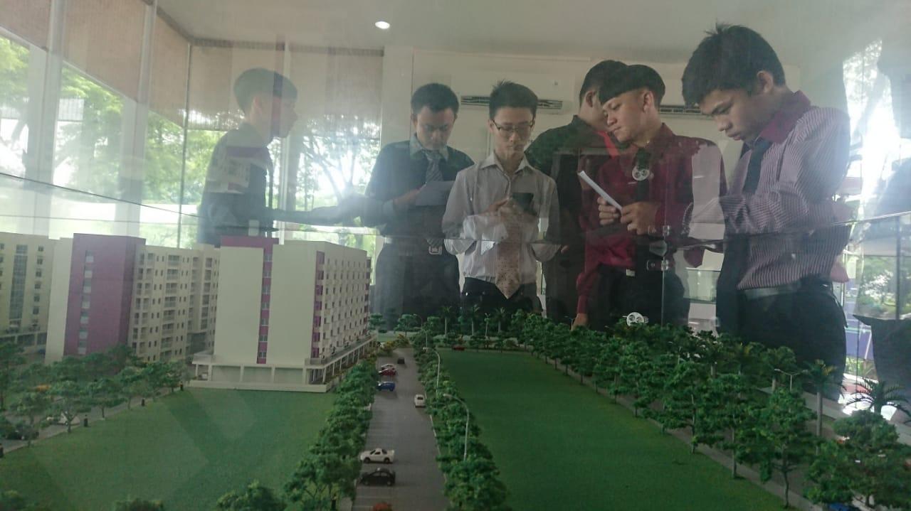 Pemilihan Cide dan Kode di Aeropolis Commercial Park 2, Aeropolis, Neglasari, Kota Tangerang, Sabtu (8/2/2020).