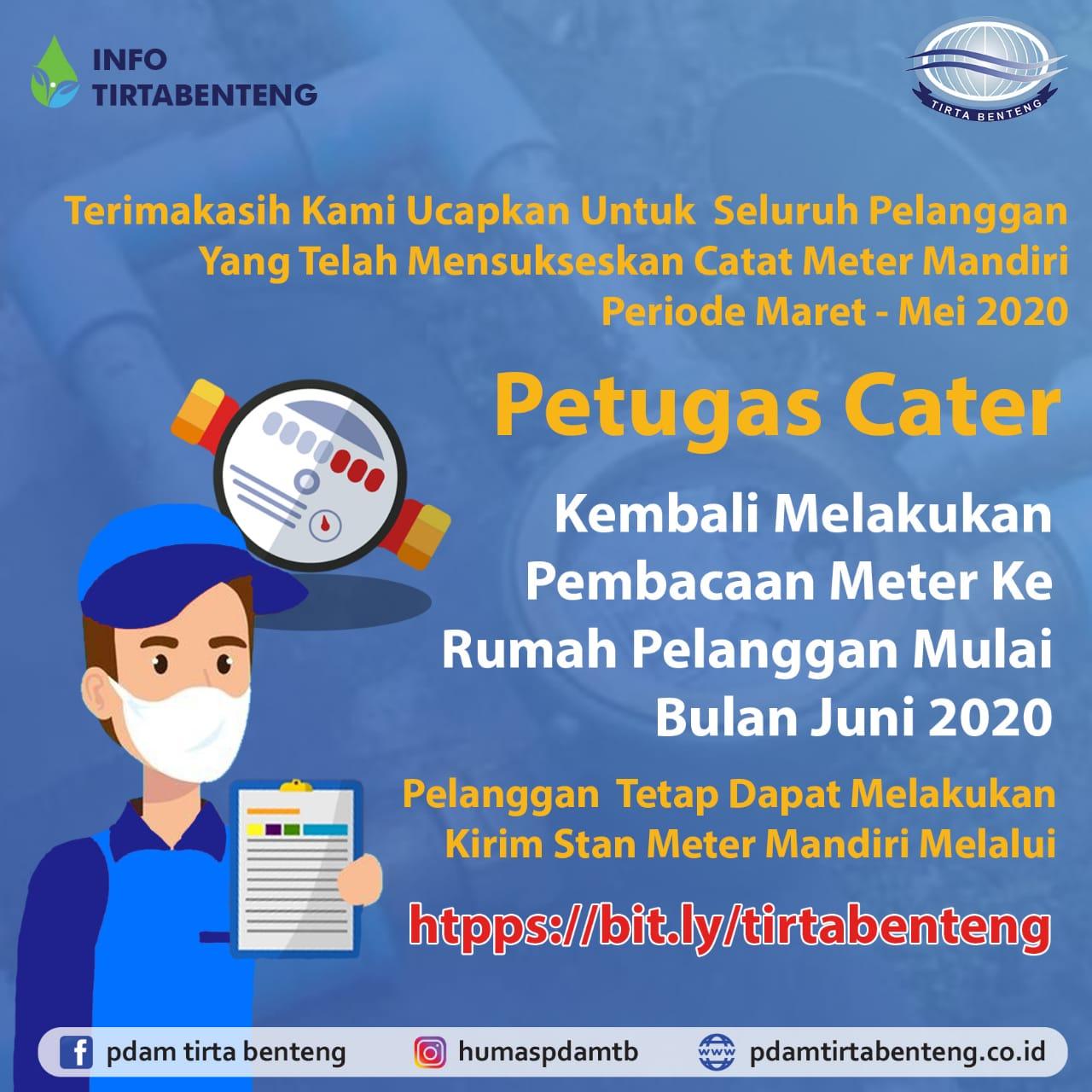Info PDAM Tirta Benteng Kota Tangerang.