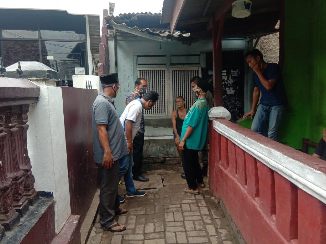 Suasana warga Selapajang yang menjadi korban banjir dinihari sudah surut, Kota Tangerang, Kamis (21/1/2021).