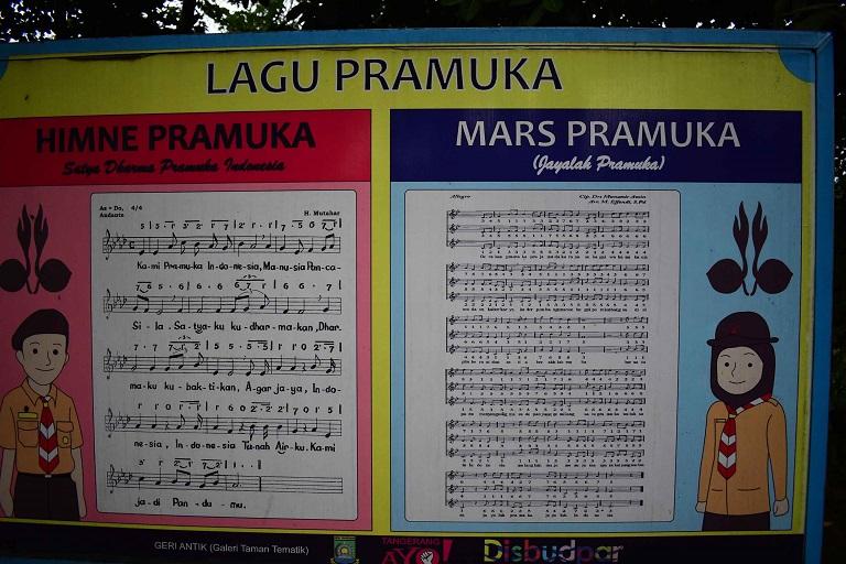 Lagu Pramuka.