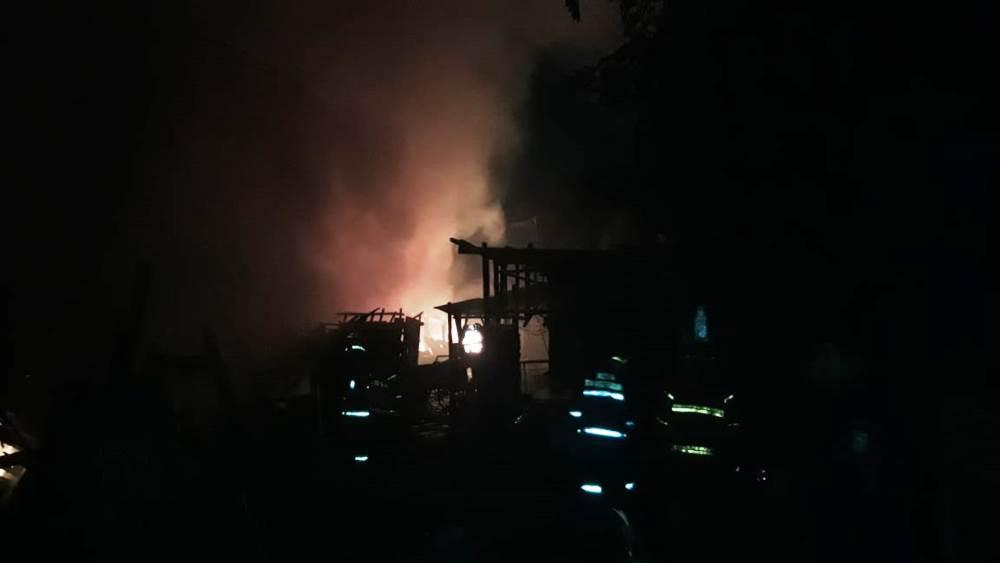 Terjadi kebakaran kontrakan tepatnya di samping Lapas Wanita, Jalan Mochammad Yamin, Kota Tangerang, Sabtu (2/1/2019) dini hari.