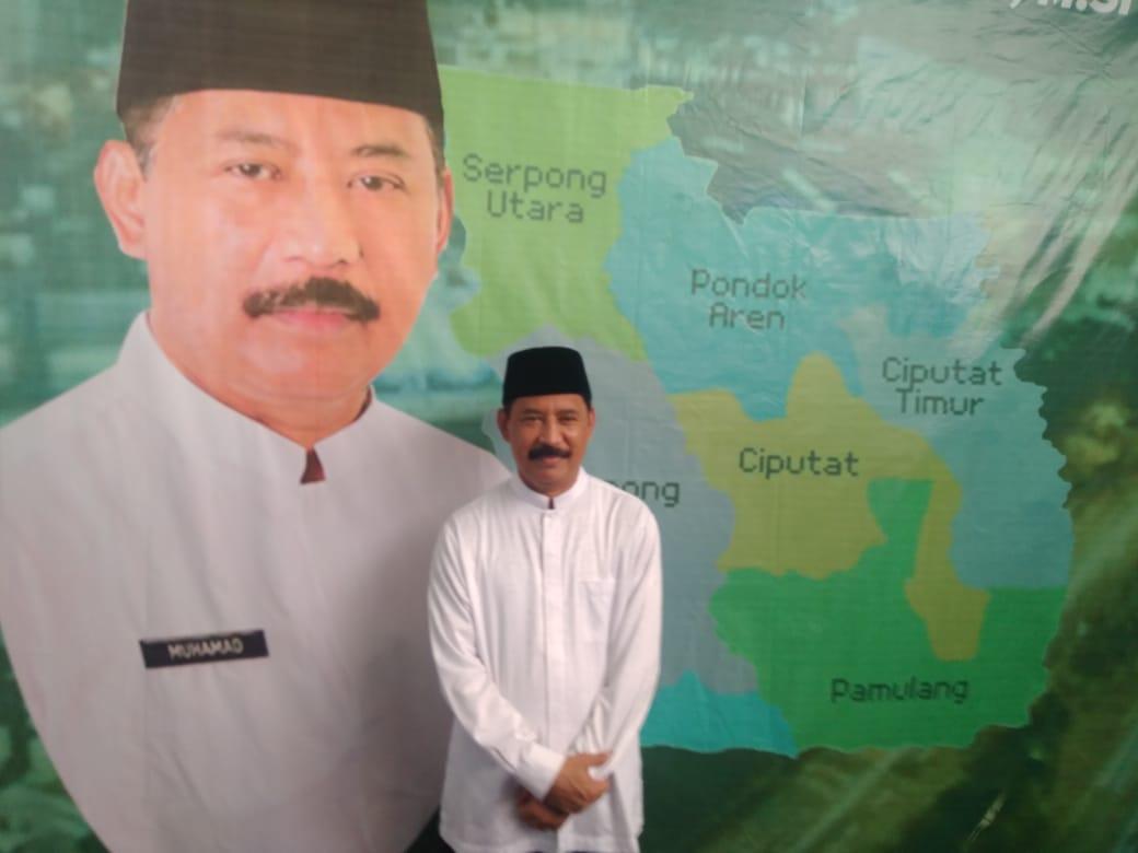 Sekretaris Daerah (Sekda) Kota Tangerang Selatan, Muhamad.