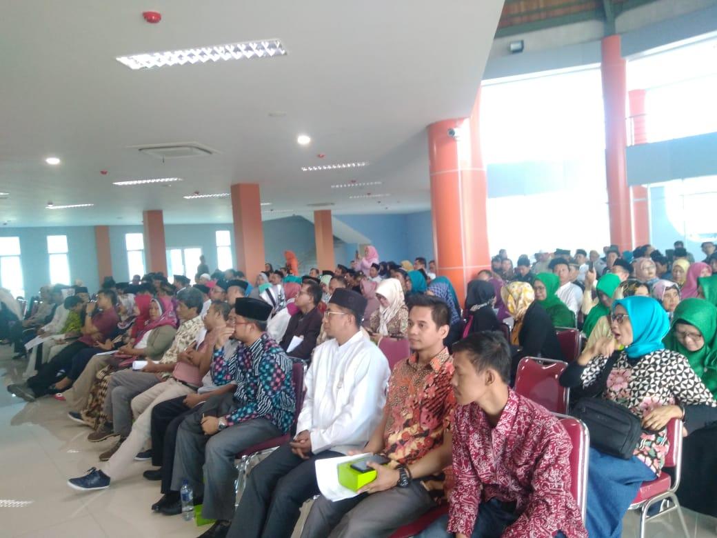 Kegiatan halalbilahal dan Tausiyah Kebudayaan di TBIC Puspitek Serpong, Jalan Raya Serpong, Pengasinan, Gunung Sindur, Bogor, Sabtu (29/6/2019).