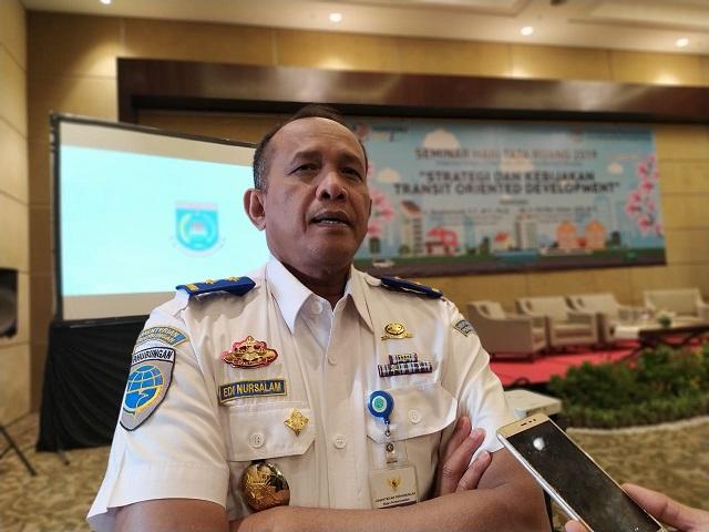 Direktur Prasarana Badan Pengelola Transportasi Jabodetabek Edi Nursalam.