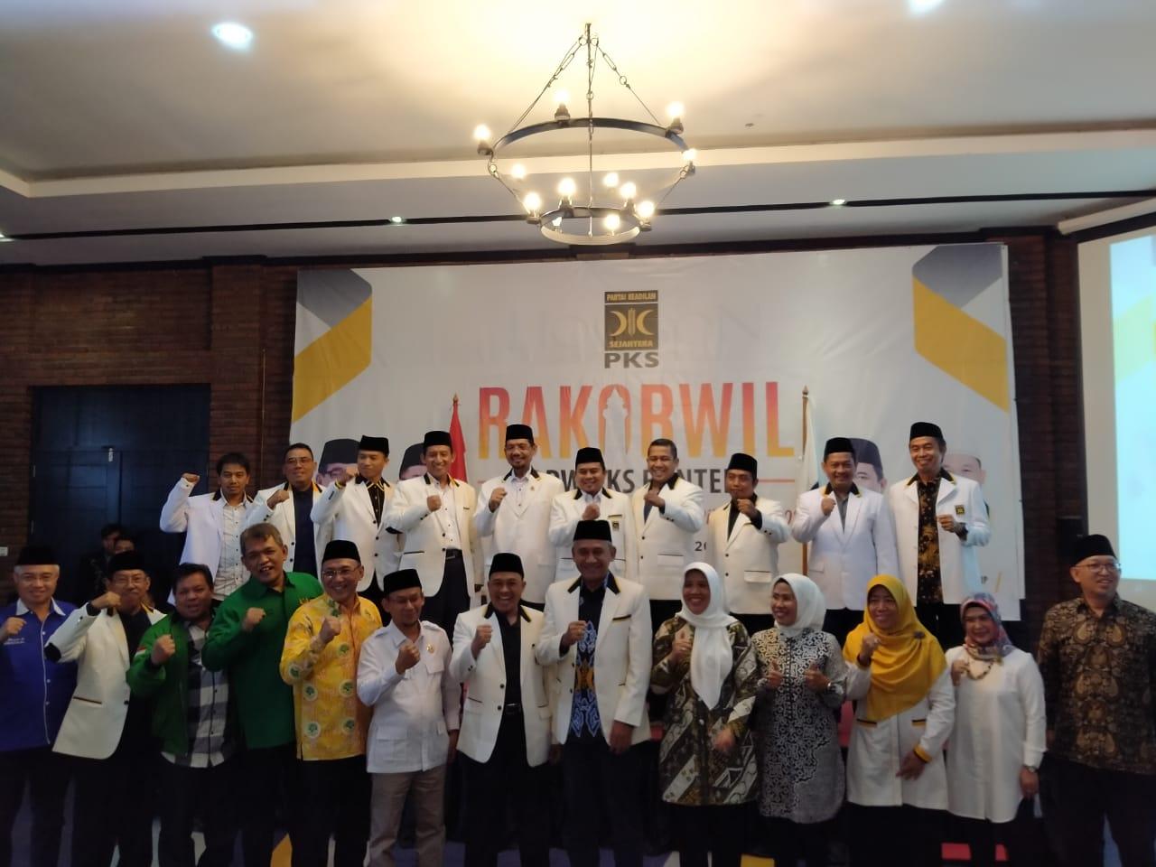 Rapat Koordinasi Wilayah (Rakorwil) DPW PKS Banten.