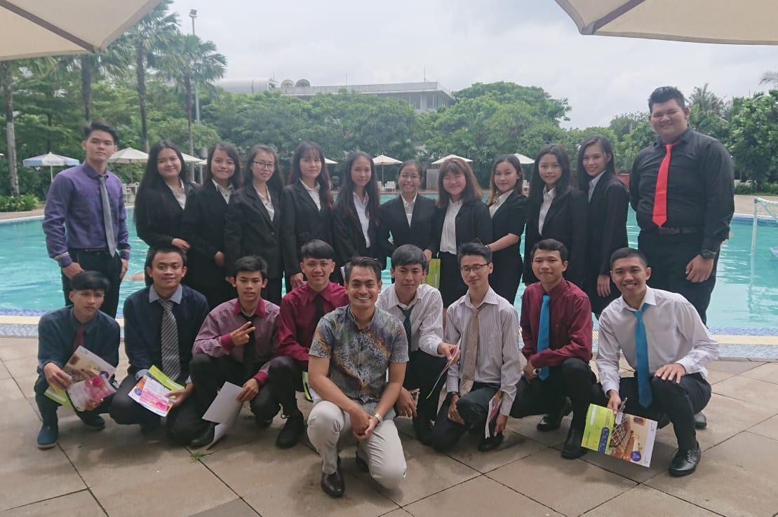 Para peserta di kegiatan Pemilihan Cide dan Kode di Aeropolis Commercial Park 2, Aeropolis, Neglasari, Kota Tangerang, Sabtu (8/2/2020)
