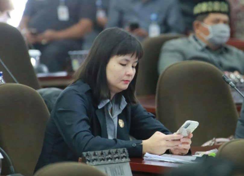 Anggota DPRD Kota Tangerang Theresia Megawati.