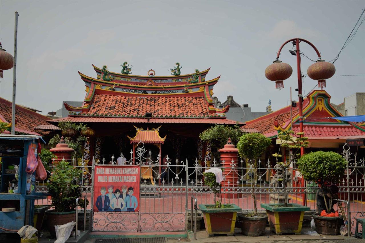 Klenteng Boen Tek Bio adalah tempat ibadah bagi Tionghoa.