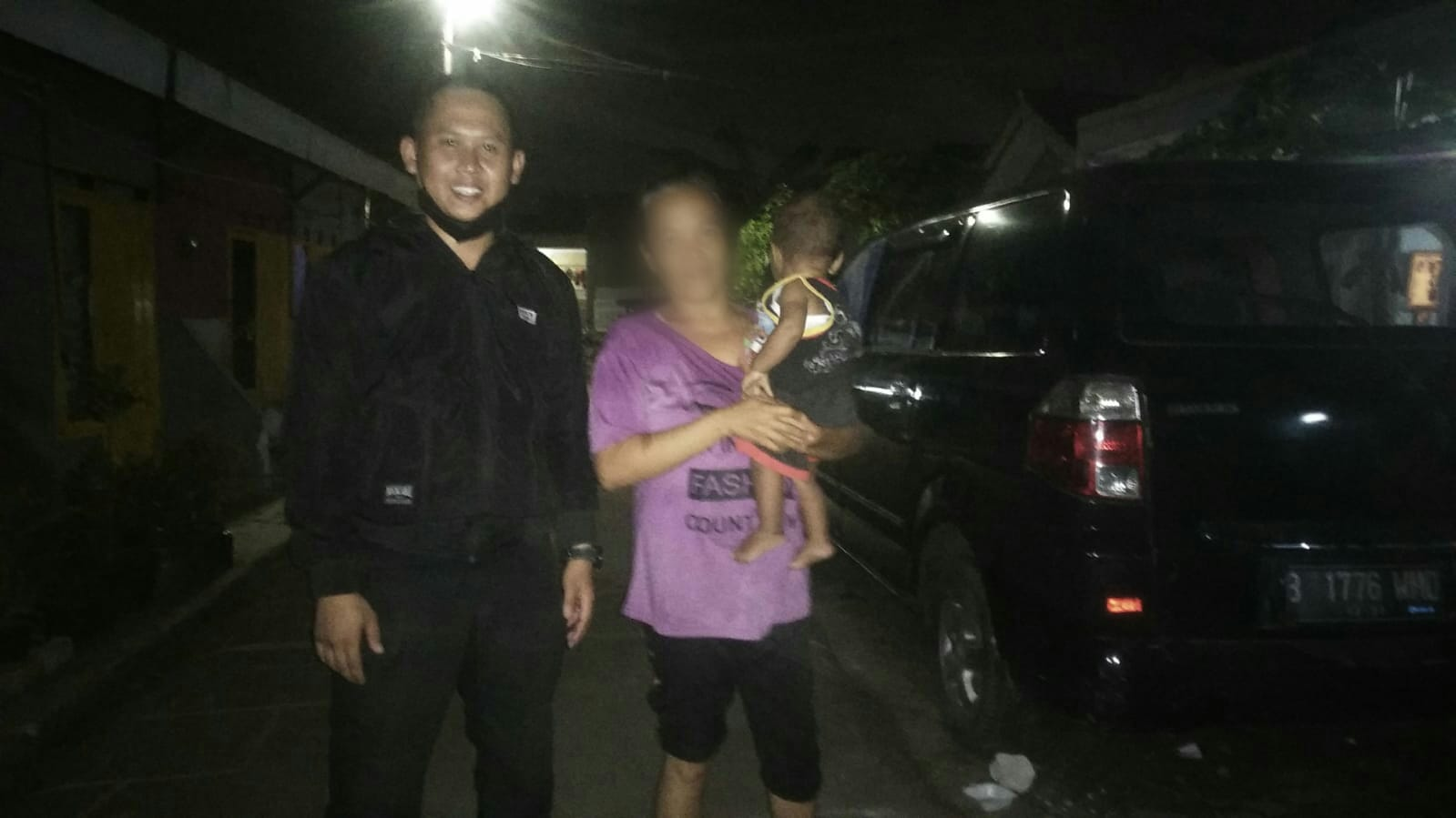 Seorang ibu dari bayi berusia 10 bulan sempat diwarnai silver di kawasan Pamulang, Tangerang Selatan.