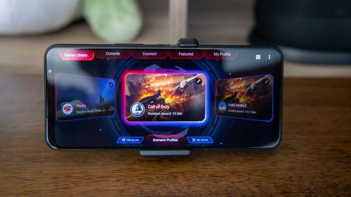 Asus ROG Phone 5 Ultimate.